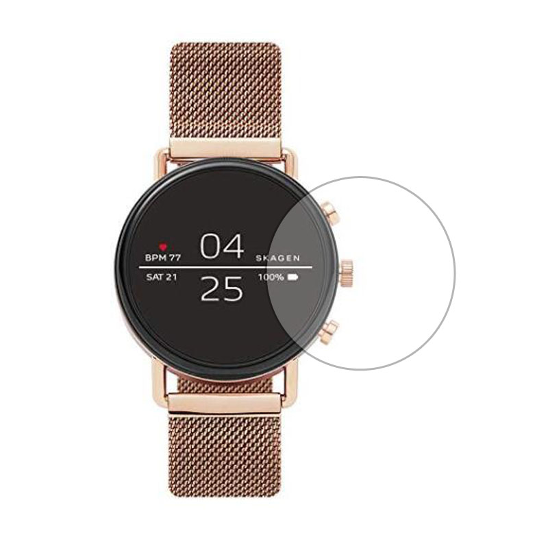 Ultra Clear Watch Tempered Glass Protective Film Guard For Skagen Falster 2 Smartwatch Toughened Display Screen Protector Cover