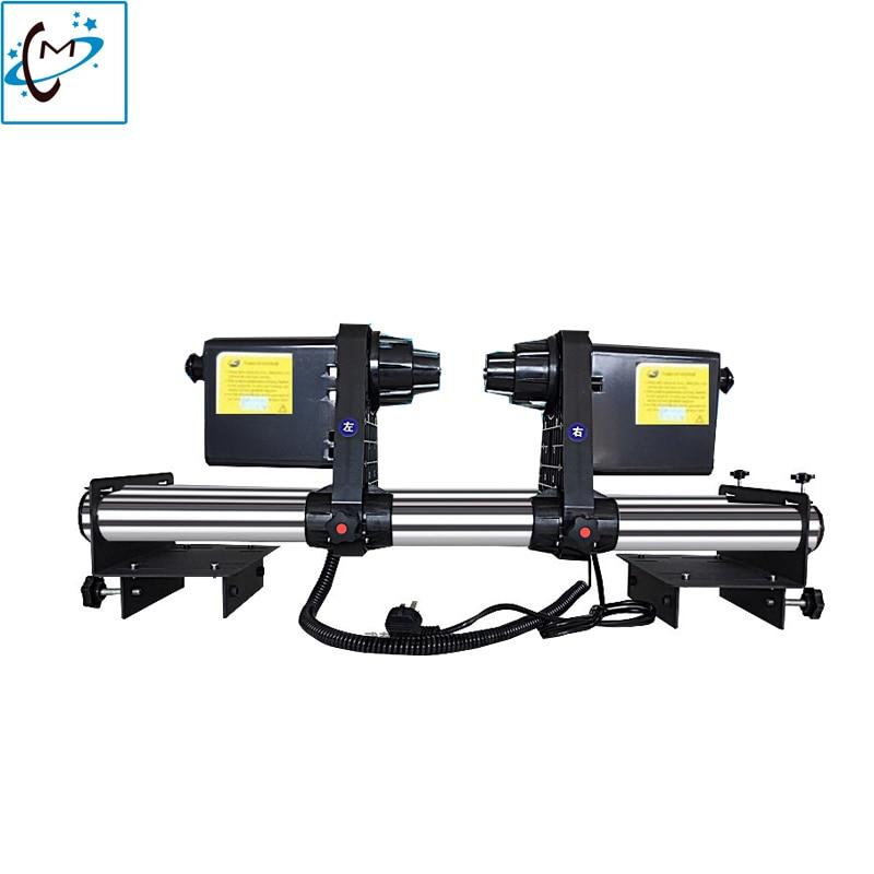 Roland VP540 VS640 eco solvent plotter printer DX5 DX7 roller auto take up system Mimaki Xuli Smart color paper Take up reel