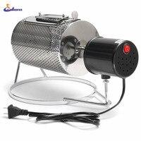 220V Stainless Steel Coffee Bean Roasting Machine Home Coffee Roaster Roller Baker