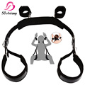 Auxiliary Sex Leather Bondage Restraints Bed For Women Fetish Bdsm Bondage Harness Erotic Game Positions Sex Toys For Couples