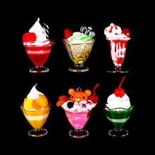 1 шт набор стаканчиков для мороженого модель ролевые игры мини