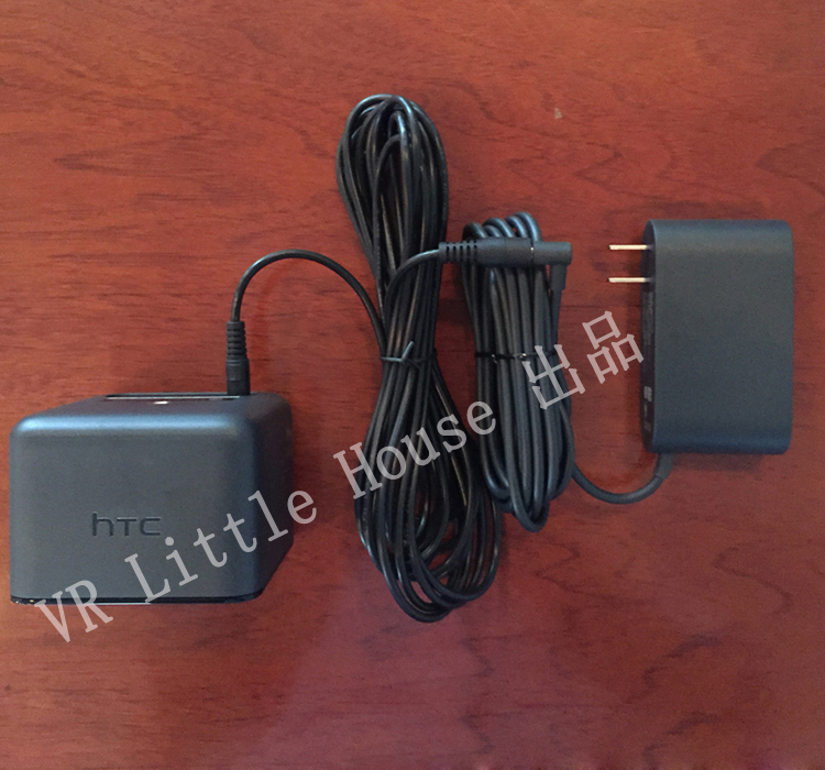 Base station power supply charger extension cable 5m for htc vive transmitter