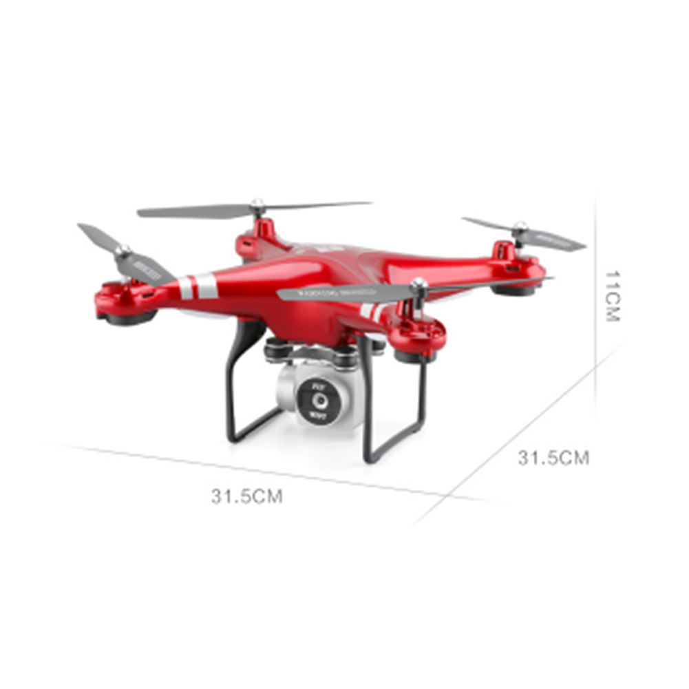 Best New Drone With Camera 1080P HD 5MP Hover Helicopter X52 Dron RC Drone Full hd Camera Drone Professional long flight time 1
