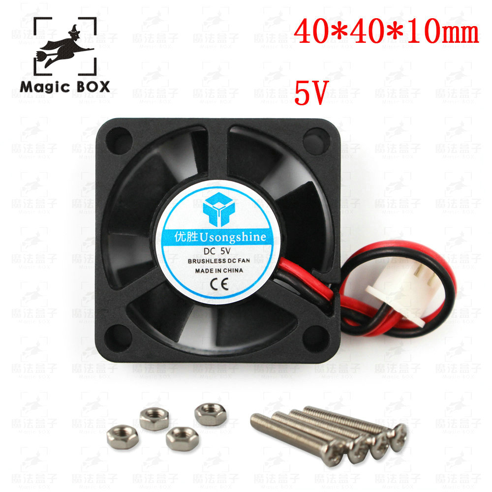 DC Fans 5V 12V 24V Computer CPU Cooler Mini Cooling Fan 40MM 40x40x10mm Small Exhaust Fan for 3D Printer 4010 2 pin 40*40*10MM цена