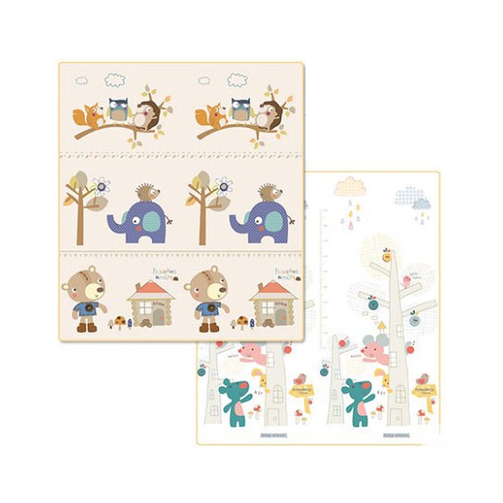 Portable Foldable Baby Climbing Pad Cartoon Bear Baby Play Mat Foam Pad XPE Environmental Tasteless Parlor Game Blanket