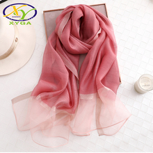 1PC 2017 New Arrival Korea Style Lace Gradient Color Women Fashion Scarf Thin Summer Woman Pashmina Shawls Soft