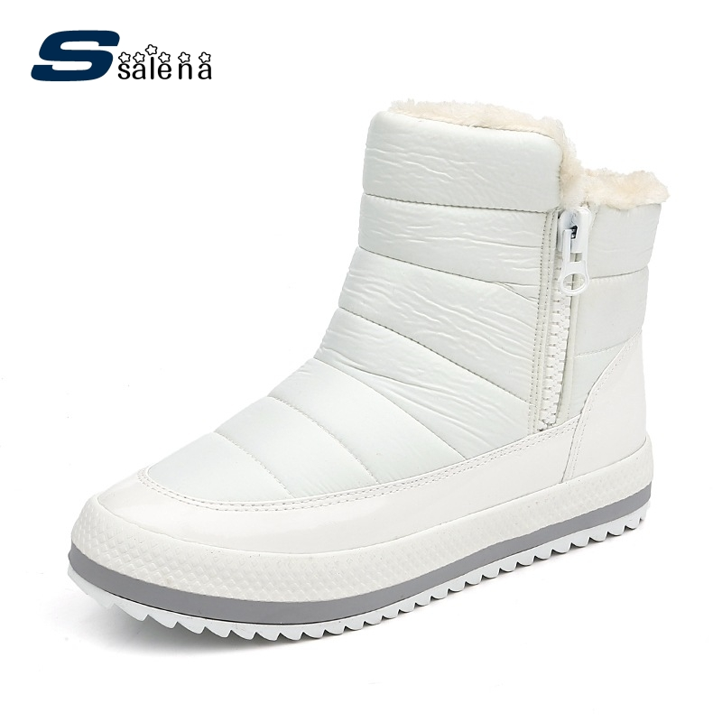 SSALENA Ankle Boots Women Soft Footwear Classic Winter Boots Fashion High Quality A898