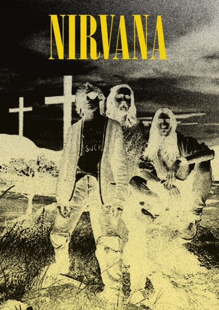 Vintage Nirvana Concert Posters Rock Stars Retro Poster Canvas Painting DIY Wall Paper Home Decor