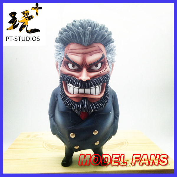 MODEL FANS IN-STOCK one piece sd version Monkey D Garp gk resin statue figure for collectionMODEL FANS IN-STOCK one piece sd version Monkey D Garp gk resin statue figure for collection