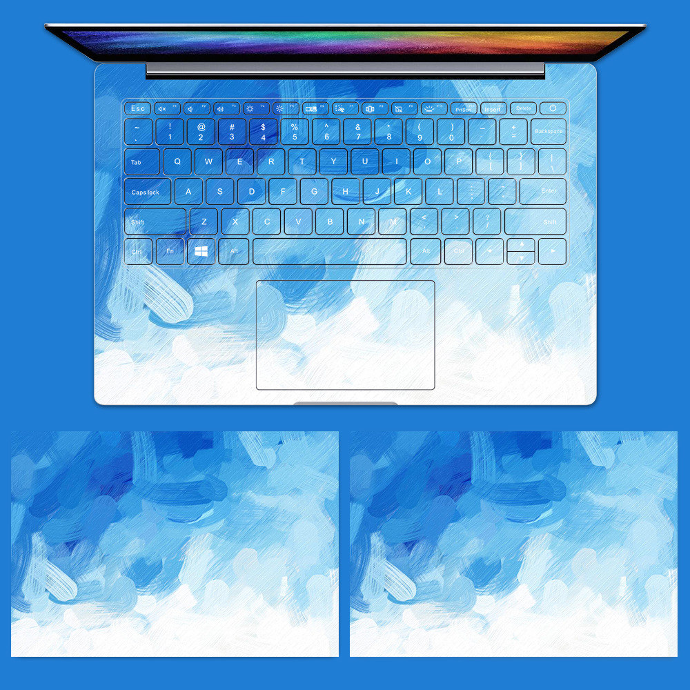 PVC Stickers for Xiaomi Notebook Air 12.5 13.3 Pro 15.6 Capa Para Colorful Vinyl Decal Laptop Stickers for Mi Air 12 13 15.6