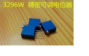100 pcs 3296 W 502 k Trimpot Potenciômetro 5 Guarnição Trimmer Variável Resistor de Alta Precisão Resistor Variável