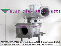 RHF3 VL36 VL37 55212916 55212917 Turbo For Alfa Romeo MiTo For FIAT Grande Punto Bravo For Lancia Delta III 2007 T Jet 16V 1.4L