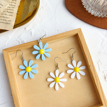 2019 New Summer Acrylic Daisy flower earrings Luxury womens jewelry party accessories Gift