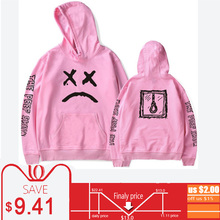 Pink Hoodies Men Lil Peep Cry Baby Rapper Male Sweatshirts Hooded Pullover Casual Women Tracksuit Autumn Hoddies Coats Brands