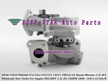 Turbocharger BV40 53039880373 53039880341 53039880339 53039880231 14411-3XN3A 144113XN3A 14411-LC10A 14411LC10A 14411LC10B 2.5L