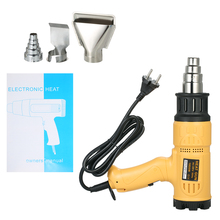 1800W Electric Hot Air Gun soldering For  Building Hair dryer Adjustable Heat Gun Tool with 4 Nozzles Temperature-controlled