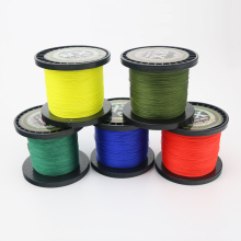 500m.Fishing line brand new monochrome 500 meter, in four strong horse line, PE knitting road and sea line.