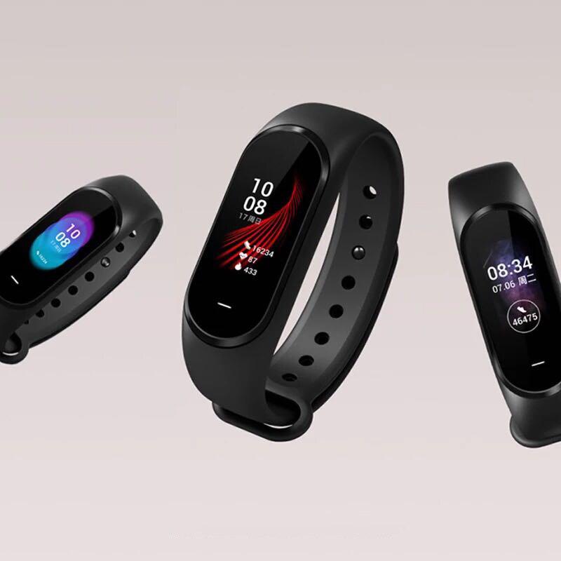 Version russe Xiaomi Hey Plus Smartband 0.95 pouces AMOLED couleur écran intégré multifonction NFC moniteur de fréquence cardiaque montre intelligente - 4
