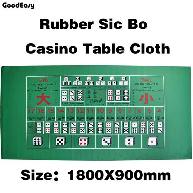 Dice Game Rubber Square Green Texas Holdu0027em Poker Table Mat Digital  Printing Poker Gaming