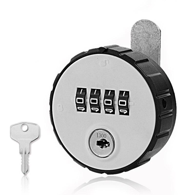 US $13 72 37% OFF Cupboard Password / Key Locks Mechanical Cabinet Lock,  Employee Locker File , Double Unlock Can Retrieve Password Modification-in