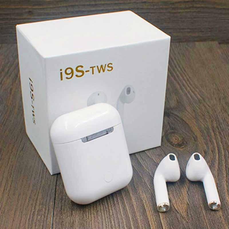 Originale IFANS i9s tws 1:1 Air Baccelli mini Bluetooth senza fili super bass Auricolari Per il iphone cuscinetti auricolari xiaomi PK i12 i10 i11 tws