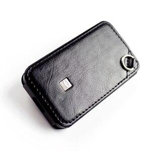 Image 4 - C M6 حقيبة جلد ل FiiO M6 ، مرحبا الدقة لاعب M6 أغطية جلد. أسود