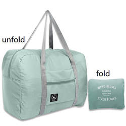 Сумка для багажа 2019 Большая вместительная модная дорожная сумка для мужчин и женщин Дорожная сумка для переноски багажа