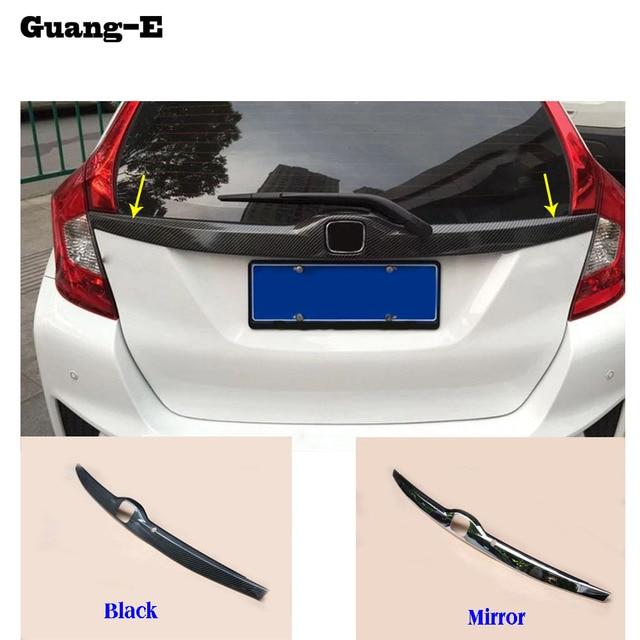Car cover ABS Chrome Rear License Plate door bottom tailgate frame ...