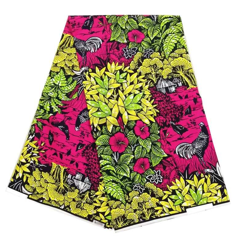 ankara nigeria african wax print 100% cotton wax fabric real ducth wax fabric 40*40 yarn for women party dress