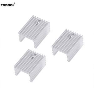 Image 5 - 10 sztuk TO 220 chłodzenie grzejnik aluminiowy arkusz radiator tranzystor radiator Cooler chłodzenie chłodnicy na PC komponenty komputerowe
