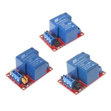 1 Channel Relay Module 5V/12V/24V High Low Electrical Level Trigger Current 30A 250V VAC With Optocoupler Isolation Module qiang 5v 5a high current 24v low voltage wireless charging module ic scheme