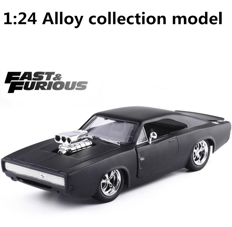 JADA 1:24 High simulation alloy model car,Dodge Charger racing car,2 open door,quality toy models,toy vehicles,free shipping carnival is detonated the gt 500 shelby cobra muscle car jada 1 18 simulation models