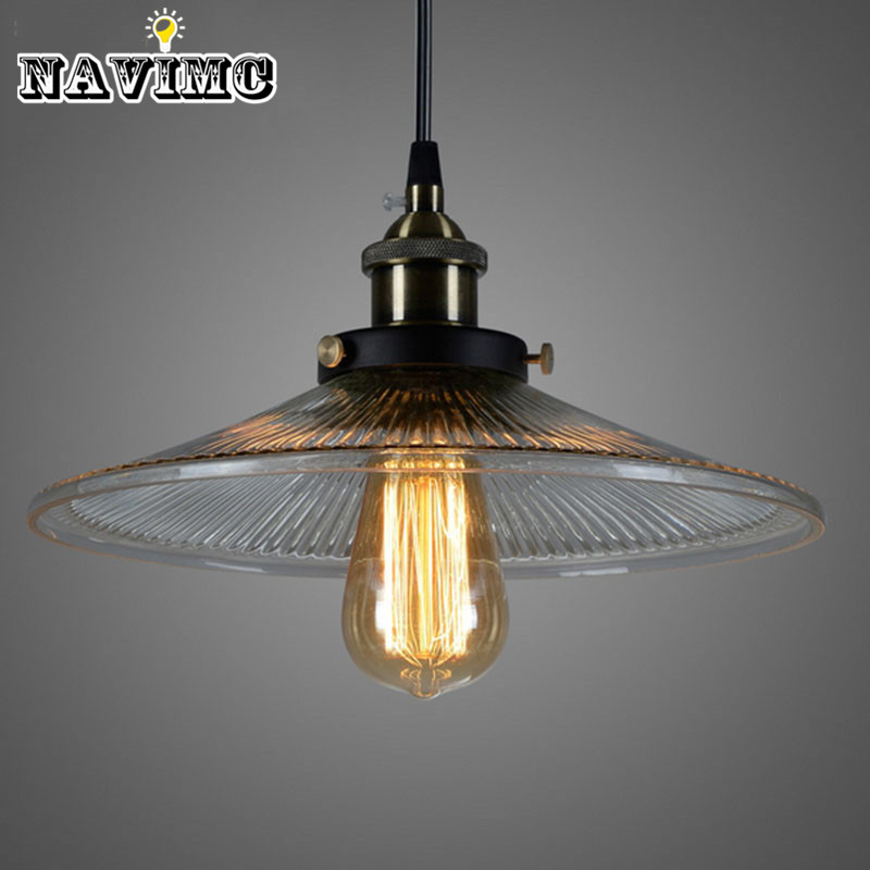 New Nordic Vintage Loft Retro Industrial Pendant Lights