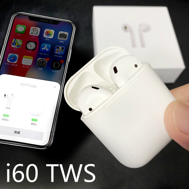 W1 Chip i60 TWS Earphone Pop Up Headset 1:1 AP Size Earbuds Bluetooth Wireless Earphones PK i9S i10 i11 i12W1 Chip i60 TWS Earphone Pop Up Headset 1:1 AP Size Earbuds Bluetooth Wireless Earphones PK i9S i10 i11 i12