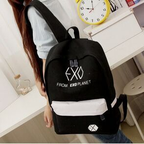 2017 new Women's Colorful Canvas Backpacks Rucksacks Men Student School Bags For Girl boy Casual Travel EXO bags Mochila msmo 2017 new kpop exo canvas backpack sacks women men student school bags for girl boy casual travel exo bags