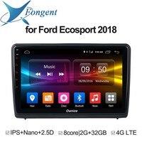 Для Ford Ecosport 2018 автомобиль Android 8,1 Авто Радио стерео блок dvd gps навигация Радио Видео Музыка Мультимедиа DVD плеер