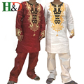 (Бесплатная Доставка) Африканских мужчин, одежда богатых мужская одежда Базен Африканских хлопок вышивка технологии проектирования PH46