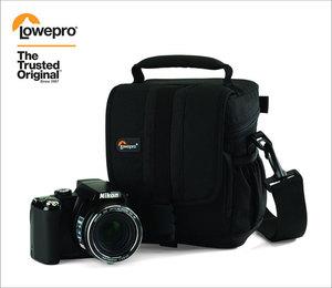 Image 3 - Lowepro Adventura 120 Digital SLR Câmera Saco de Ombro Triângulo Capa de Chuva Portátil Cintura Holster Case Para Canon Nikon