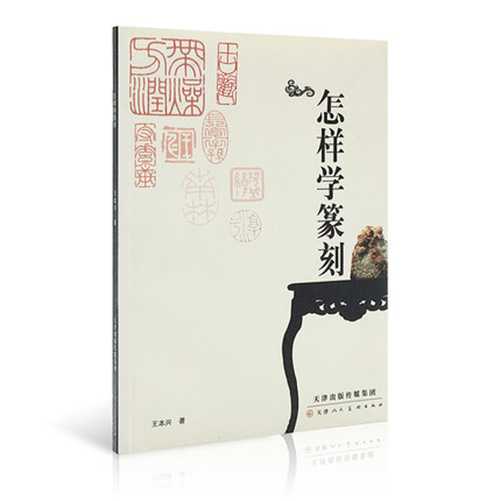 How To Self- Study Carving Chinese Calligraphy Painting Stone Seal Skill Book