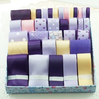 Ribbon Set For Diy Handmade Gift Craft Packing Hair Accessories Materials Wedding Ribbon Package Set