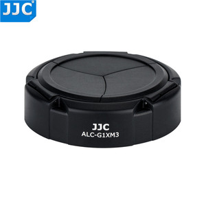 Image 3 - Jjc専用自動開閉するレンズキャップレンズプロテクターキヤノンのpowershot G1Xマークiii G1X M3 デジタルカメラ自動レンズキャップ