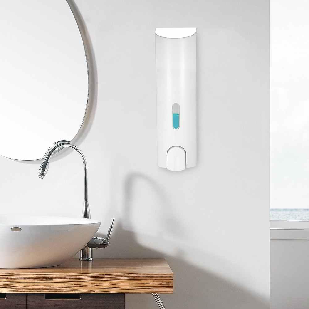 400ml do montażu na ścianie mydło dozownik butelka instrukcja szampon do mycia rąk dozownik cieczy toaleta mydło w płynie dozownik