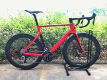 2019 carbon road DISC bike complete bicycle carbon BICICLETTA bicycle with bike group R8000 R7000 carbon