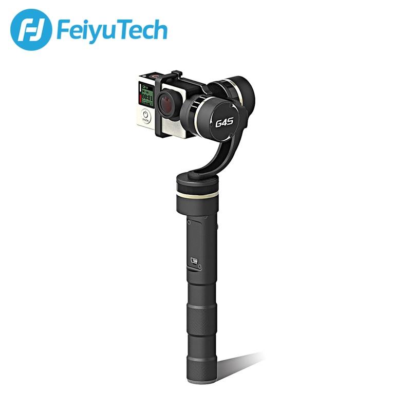 FeiyuTech Feiyu G4S Brushless Motor Handheld 3-Axis Gimbal Moving without Limited Compatible with GoPro Hero4,Hero 3+,Hero 3 цена