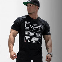 Summer New 2017 Extend Hip Hop Street T Shirt Men Fashion Brand T Shirts Fitness Men