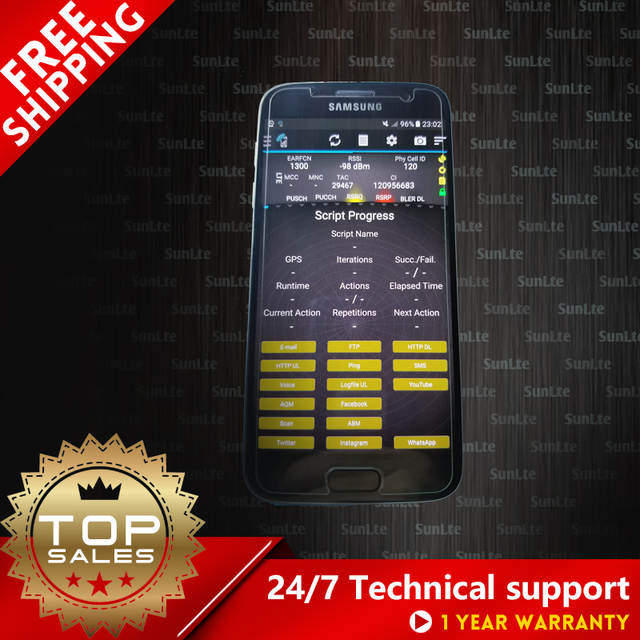 US $900 0 |S7 G930F Drive test phone Support 3CA / VoLTE / PESQ & POLQA  Band lock / Tems pocket / Tems investigation -in Mobile Phone Antenna from