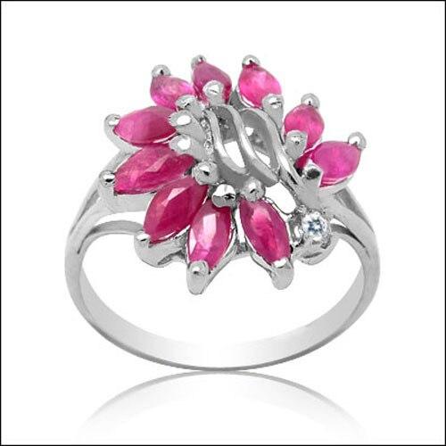 Limité Qi xuan_rouge pierre élégante anneaux _ réel rouge Rings_S925 solide argent mode rouge rings_fabricant directement ventes