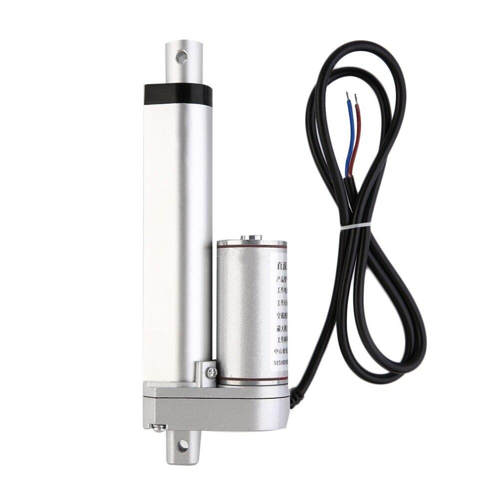 Linear Actuator Motor direct-current 12V Stroke Heavy Duty 500N 100MM stroke electric telescopic rod
