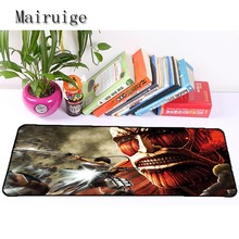 Mairuige High Quality Hot Selling Anime Attack on Titan Mousepad Anti Slip Mouse Pad Computer Table Mat Computer Peripherals