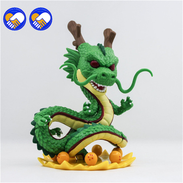 A toy A dream dragon ball z toy action figures New Dragonball figuras 1 figure dragon shenlong +7 crystal balls shelf kids Toy dragon ball z action figure dragonball android 18 lazuli battle version toy figuras